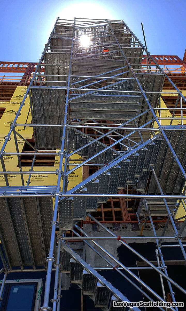 Construction Site Stair Tower Rentals